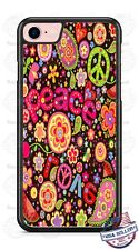 Peace Love Phone Case fits iPhone X 8 PLUS Samsung 9 Note LG G7 Google HTC etc