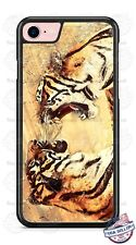Exotic Bengal Tigers Art Design Phone Case for iPhone Samsung LG Google HTC etc