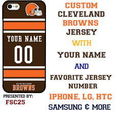 Cleveland Browns Phone Case Cover for iPhone X 8 PLUS iPhone 7 6 5 ipod 6 etc.