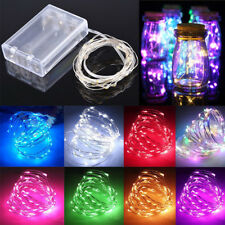 5/10M LED Fairy Light Festival Birthday Party Battery Copper Wire String Lights