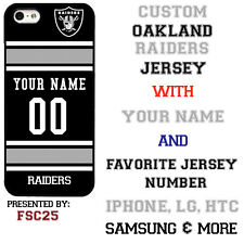 Oakland Raiders Phone Case Cover for iPhone X 8 PLUS iPhone 7 6 5 ipod 6 etc.