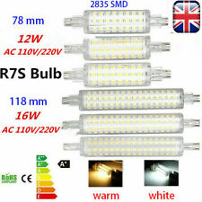 LED Floodlight Corn Bulbs R7S  118mm 78mm SMD 16W 12W  Replace Halogen Lamps UK​