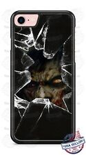 Zombie broken glass Halloween Phone Case for iPhone Samsung Google LG HTC etc