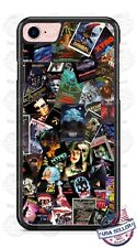 Halloween Scary Movie Poster Villains - A4 Design Phone Case for iPhone etc