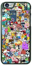 Cartoons Collage Design Phone Case for iPhone Samsung Google LG HTC Motorola etc