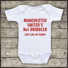 Baby Bodysuit Me And My Dad Love Southampton Football Novelty