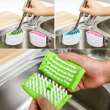 Spoon Cutlery Cleaners Dish Washing Cleansing Sponge Brush Kitchen  Sink Tools