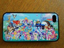 My Little Pony Style Back Hard Case For iPhone iPod Touch Sony Samsung Phone