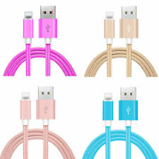 3ft 6ft 10ft Usb Cord Cable Charger Iphone 6s 7 8 Sync X Xs Lightning Data Cable