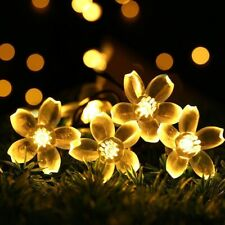 KCASA 5M 50 LED Sakura Flower String Lights LED Fairy Lights for Festival