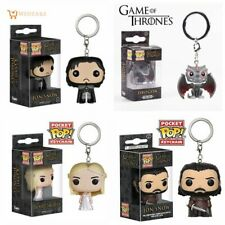 FUNKO POP Pocket Pop Game of Thrones Jon Snow Characters Collectible model tyos