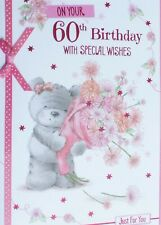 60th Birthday Card Female Various Cards Free P