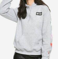 BT21 BTS Line Friends Authentic Pullover Hoodie (Juniors Sizing) NEW