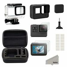 Kupton Accessories for GoPro Hero7Black Only//2018/6/5 Black Starter Kit Travel