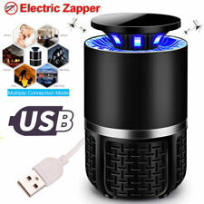 New Electric Bug Zapper Insect Mosquito Killer USB LED Light Lamp Pest Control