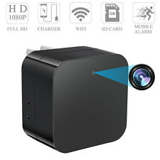 WIFI Wall Charger Plug HD 1080P Spycam Camera AC Adapter DVR Video Recorder Cam