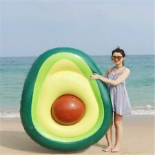 Pool Float Inflatable Giant Avocado Summer Beach Swimming Float Ring Pool Circle