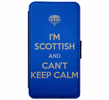 Im Scottish Keep Calm Leather Flip Phone Case Cover for iPhone & Samsung D29