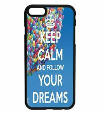 KEEP CALM and Just Go it Rubber Hard Back Case for iPhone Samsung D20