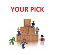 Roblox  Series 2 Rare Figure Mystery Box Kids Toy+ irtual Code YOUR PICK US FAST