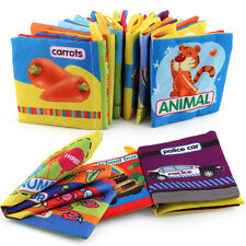 New Kid Baby Intelligence development Cloth Bed Cognize Book Educational Toy Hot