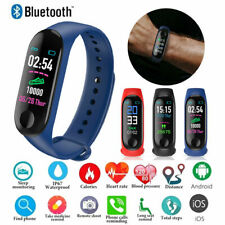 Bluetooth Smart Band Wristband Heart Rate Monitor Fitness Tracker Sport Bracelet