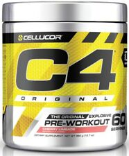 CELLUCOR C4 SALE ORIGINAL Pre Workout Explosive Creatine Caffeine 60 serv