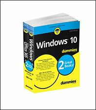 WINDOWS 10 & OFFICE 365 FOR DUMMIES, BOOK + VIDEO BUNDLE (FOR By Rosemarie NEW