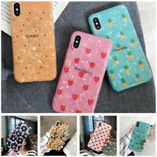 Soft Silicone IMD Shell Texture Case Cover For Apple iPhone Xs Max XR X 7 8 Plus