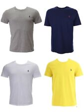 Ralph Lauren Polo Mens Custom Fit Small Pony Crew Neck T-Shirt Tee Top - New
