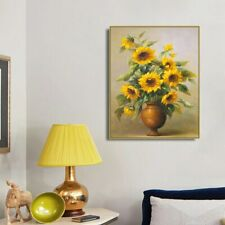 Wall Pictures Art Canvas Painting Calligraphy Poster and Prints Sunflowers