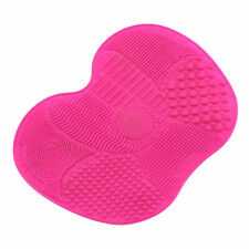 GESMART Silicone Makeup Brush Cleaning Mat Cosmetic Scrubber Board Mat Pad