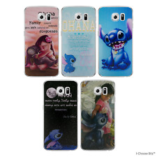 Lilo and Stitch Gel Case for Samsung Galaxy S6 G920 Screen Protector Cover