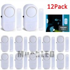 12X WIRELESS Home Window Door Burglar Security ALARM System Magnetic Sensor