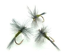 Mixed Size 12//14//16 Trout Flies Fishing flies 8 Tupps Indispensible Dry Flies