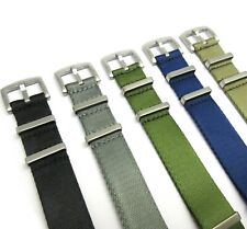 Premium quality NATO STRAP nylon fabric band for your military/ divers watch