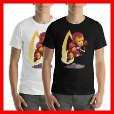 IRON MAN TONY STARK AVENGER INFINITY WAR END GAME FUNNY USA SIZE T-SHIRT