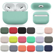 For Apple Airpods Pro Earphone Protective Silicone Cover Airpods Charging Case