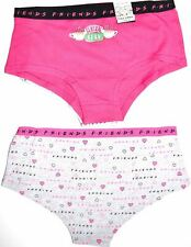 Central Perk Knickers 2 Pack Panties FRIENDS Underwear Women Ladies Size 6 to 22