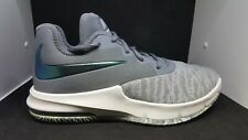 Nike Air Max Infuriate III Low Men's Cool Grey Basketball Sneakers Shoes
