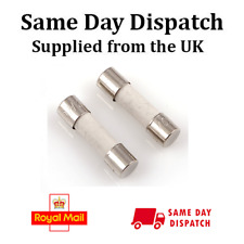 Ceramic Time Delay 8A Fuse 5mm x 20mm Mc000836 Pack Of 10