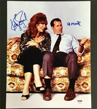 KATEY SAGAL & ED O'NEILL Signed MARRIED WITH CHILDREN 11x14 Photo ~ PSA/DNA COA