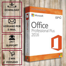 Office 2016 Professional Plus 1/2/3/4/5 PC - 32&64 Bits - ESD per Email