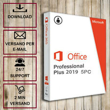 Office 2010/2013/2016/2019 Professional Plus -1/5PC- 32&64 Bits - ESD per Email