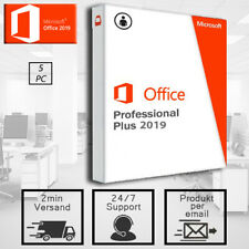 Office 2019 Professional Plus 1/5PC - Pro Plus - 32&64 Bits - Versand per E-mail