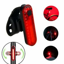 USB Rechargeable Bike Taillight LED Bicycle Light Waterproof MTB Road Safety