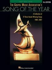 GOSPEL MUSIC ASSOCIATION'S SONG OF YEAR 4TH EDITION: By Hal Leonard Music Mint
