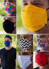 Reusable Washable face cover cotton mouth antidust many colors