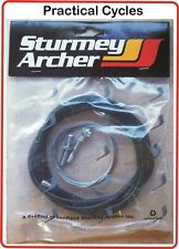 Sturmey Archer Classic Gear Trigger Cable Set - inner, outer & fixings HUB GEAR