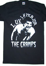 The Cramps microphone Lux Interior black t shirt psychobilly punk rock S - 5XL